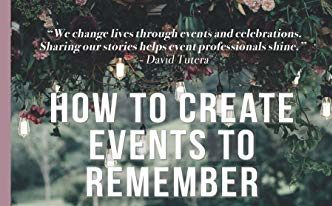 How to Create Events to Remember (Chapter 5)